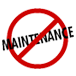 MINIMUM OR NO MAINTENANCE